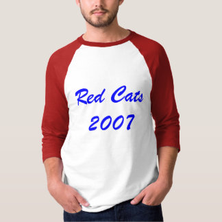 Red Cats 2007 T-Shirt