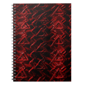 Red Caution Notebook
