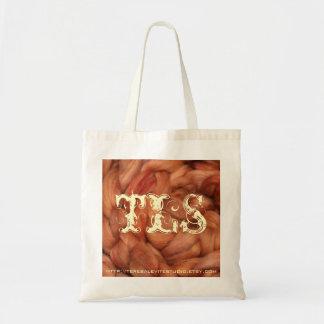 Red Cedar Wool Tote Bag