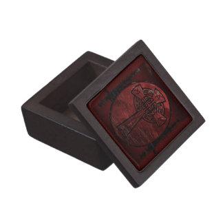 Red Celtic Cross Gift Box