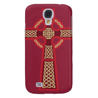Red Celtic Cross iPhone 3 Case