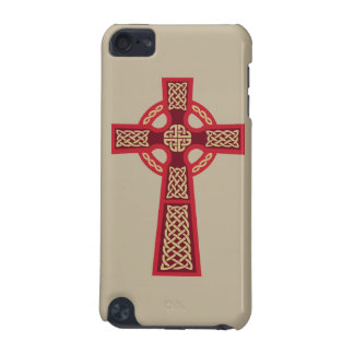 Red Celtic Cross iPod Touch Case