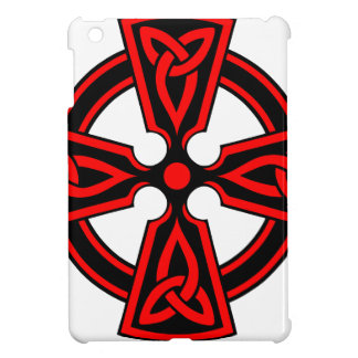red celtic cross saxon viking wicca pagan case for the iPad mini