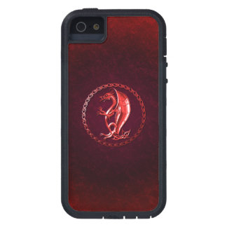 Red Celtic Dragon Case For iPhone 5
