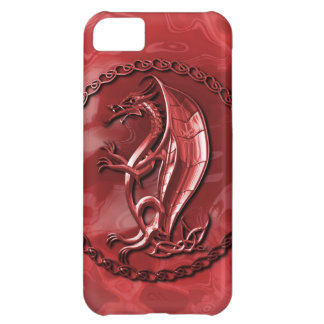 Red Celtic Dragon iPhone 5C Cover