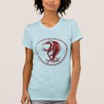 Red Celtic Dragon Tshirts
