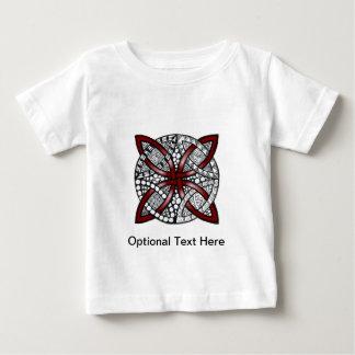 Red Celtic Knot Unique Art Baby T-Shirt