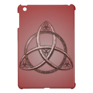 Red Celtic Trinity Knot Cover For The iPad Mini