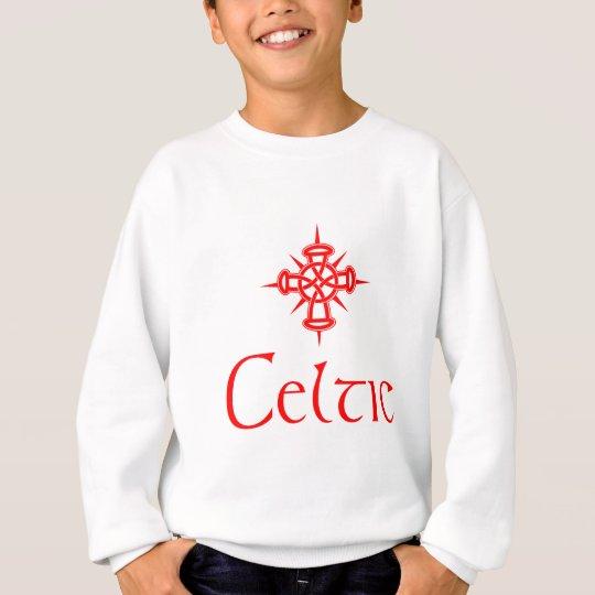 Red Celtic with Cross Sweatshirt