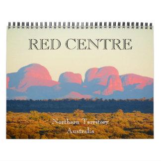 red centre 2018 calendar