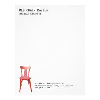 Red Chair Letterhead