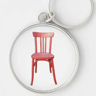 Red Chair Premium Keychain