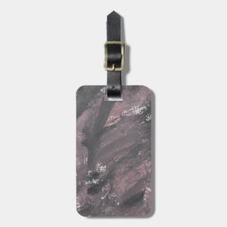 Red Chalk and Black Ink Luggage Tag