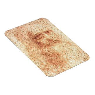 Red Chalk Leonardo da Vinci Magnet