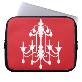 Red Chandelier Laptop Sleeve