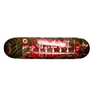 red Chandellier Skateboard Decks