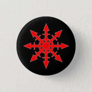 Red Chaos Star Button