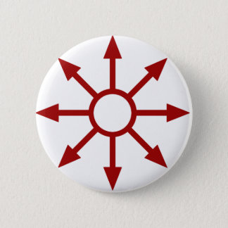 Red Chaote Sigil Button