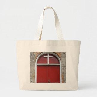 Red Chapel Door Bags