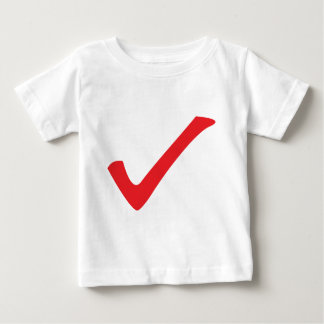 red check icon baby T-Shirt