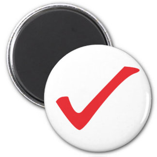 red check icon magnet