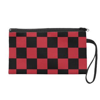 Red Checker Clutch