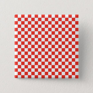 Red Checkerboard Button