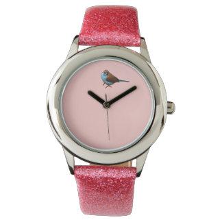 Red-cheeked Cordon Bleu Bird Watch