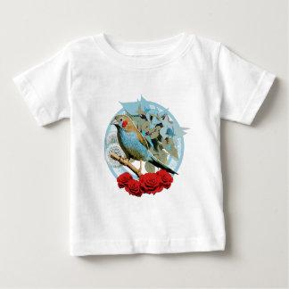 Red Cheeked Cordon Bleu Finch Baby T-Shirt