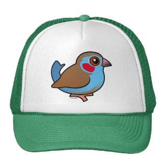 Red-cheeked Cordonbleu Trucker Hat