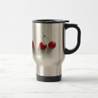 Red Cherries 15 Oz Stainless Steel Travel Mug