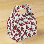 Hand shaped Red Cherries Birthday Party Favor Favor Box