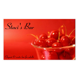 Red Cherries Business Card
