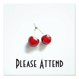 Red Cherries Card