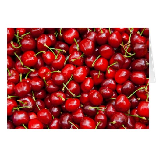 Red Cherries Card