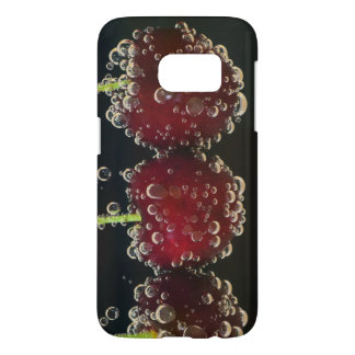 Red cherries in the water samsung galaxy s7 case