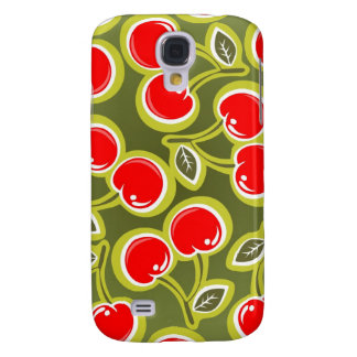 Red Cherries iPhone 3G Case Galaxy S4 Cover