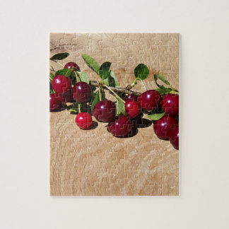 red cherries jigsaw puzzle