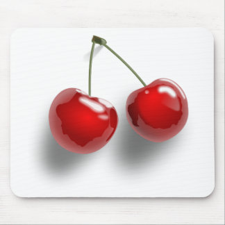 Red Cherries Mousepads