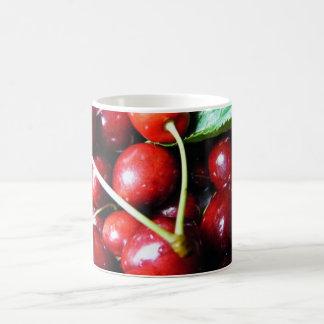 Red Cherries Classic White Coffee Mug