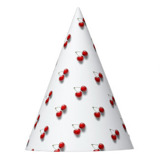 Red Cherries Party Hat