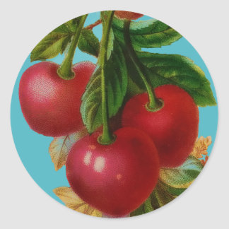 Red Cherries Sticker