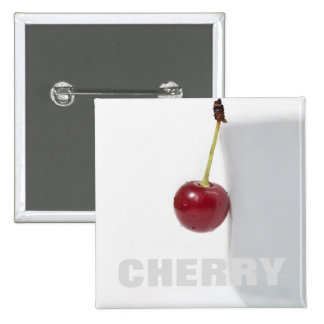 Red Cherry Berry Button