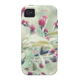 Red Cherry Blossom Vibe iPhone 4 Covers
