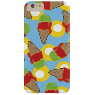 Red Cherry Lime Retro Summer Ice Cream Fun Casing Barely There iPhone 6 Plus Case