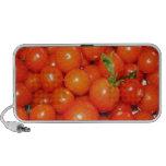 Red Cherry Tomatoes Laptop Speaker