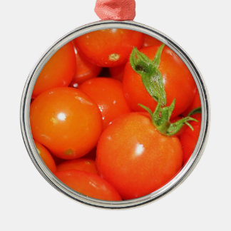 Red Cherry Tomatoes Christmas Ornaments