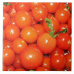 Red Cherry Tomatoes Tile