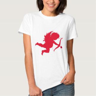 RED CHERUB SILHOUETTE.png Tee Shirt
