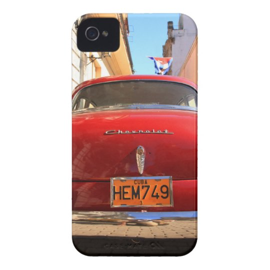 Red Chevrolet iPhone 4 Cover